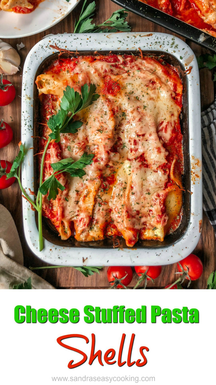 Cheese Stuffed Pasta Shells - These cheese-stuffed pasta shells sure can please just about anybody. It is creamy, cheesy, warm, comforting and most definitely delicious.