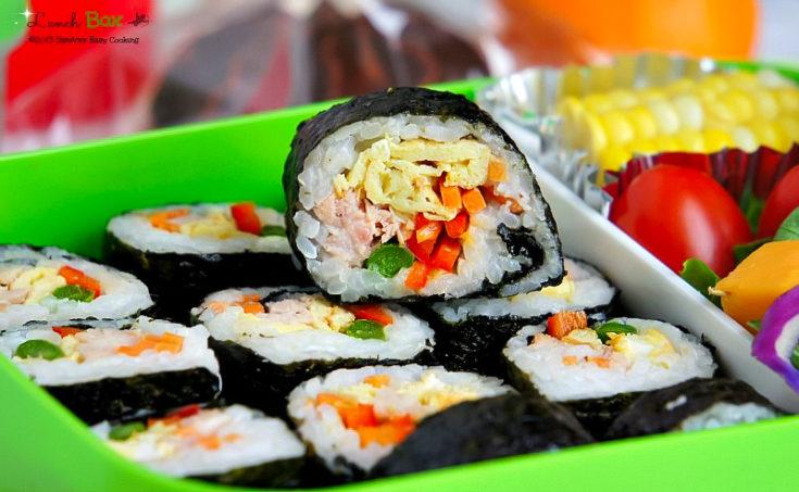 Korean Sushi Roll, Kimbap