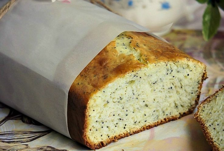 Lemon Poppy Seeds Bread
