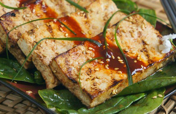 Grilled Marinated Tofu