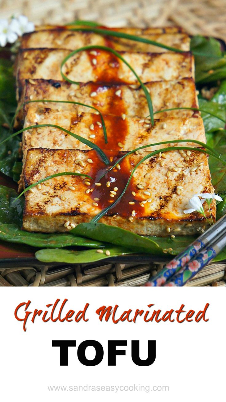 Grilled Marinated Tofu Recipe