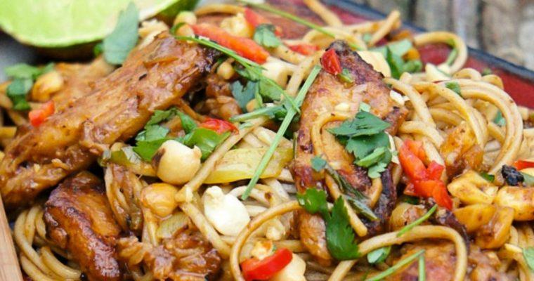 Thai Chicken Noodle Stir Fry