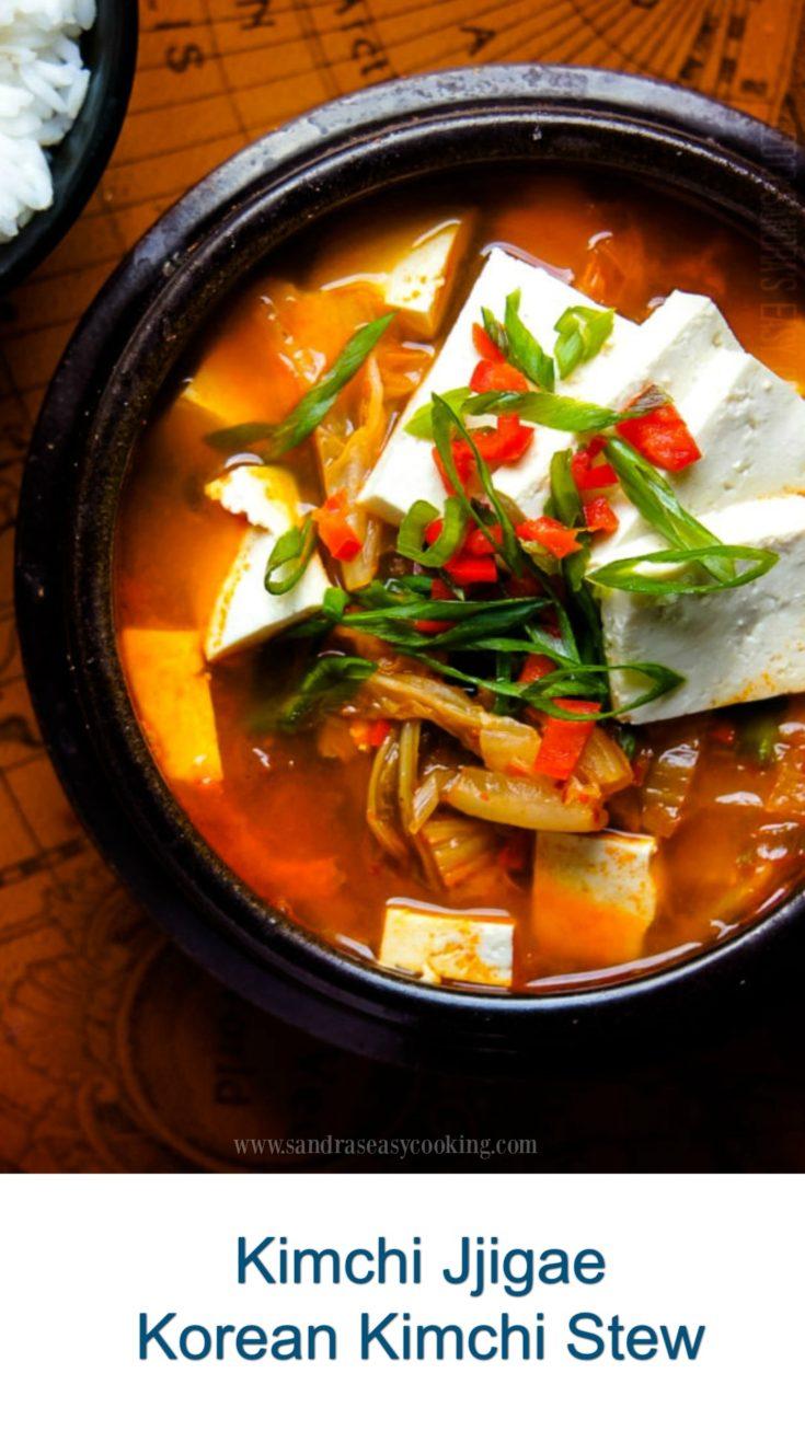 Kimchi Jjigae 김치 찌개 -Korean Kimchi Stew