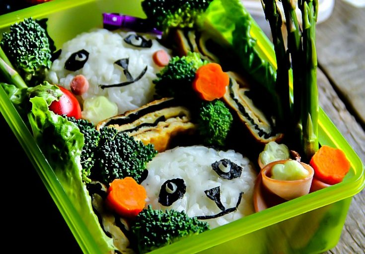 Lunch Box: Panda Bento