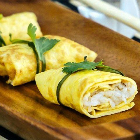Japanese Omelette Parcels