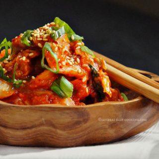 Korean Fermented Napa Cabbage