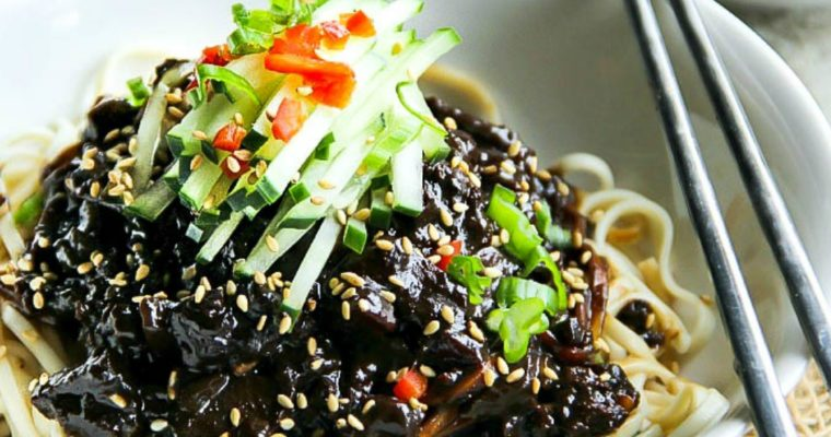 Black Bean Noodles -Jjajangmyeon