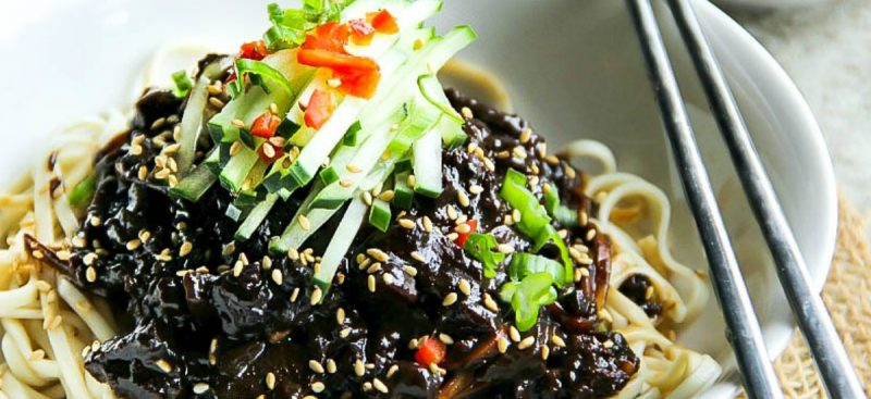 Black Bean Noodles -Jjajangmyeon