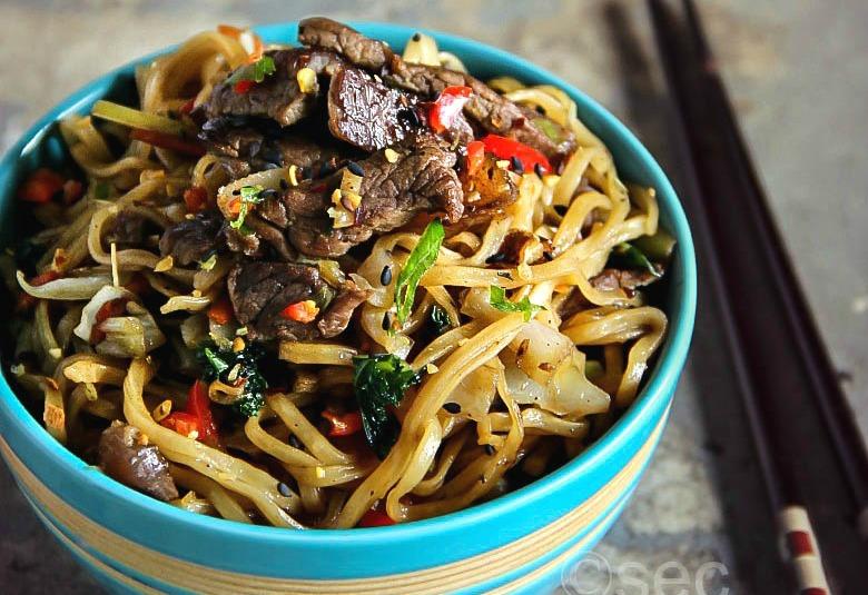 Beef Yakisoba Recipe