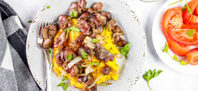 Sauteed Chicken Gizzards Recipe