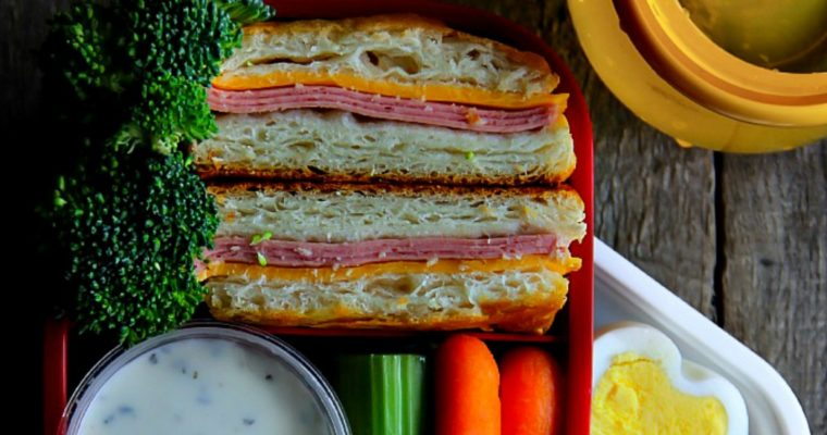 Lunch Box: Biscuit Deli Turkey Sandwiches