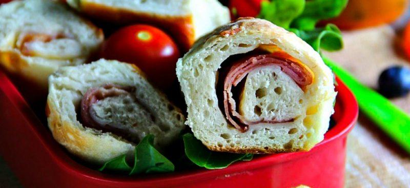 Lunch Box: Stuffed Bread