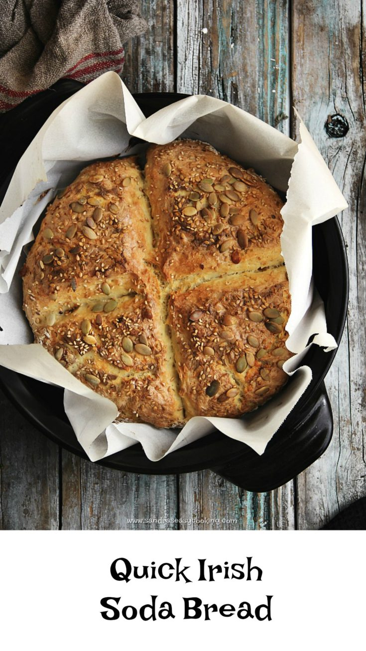 Quick Irish Soda Bread Recipe