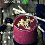 Nectarine, Kiwi and Blackberry Smoothie Recipe