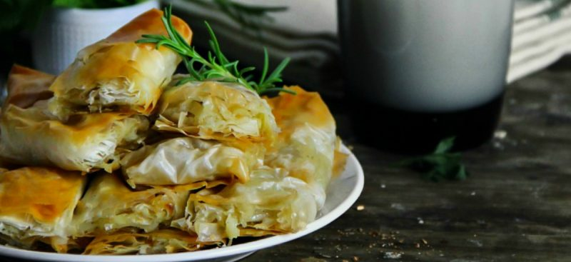 Phyllo Dough Potato Pie Pastry