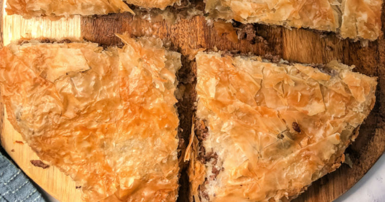 Phyllo Meat Pie Pastry