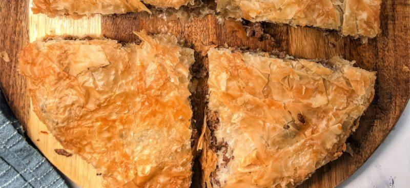 Phyllo Meat Pie Pastry