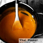 Thai Peanut Dipping Sauce