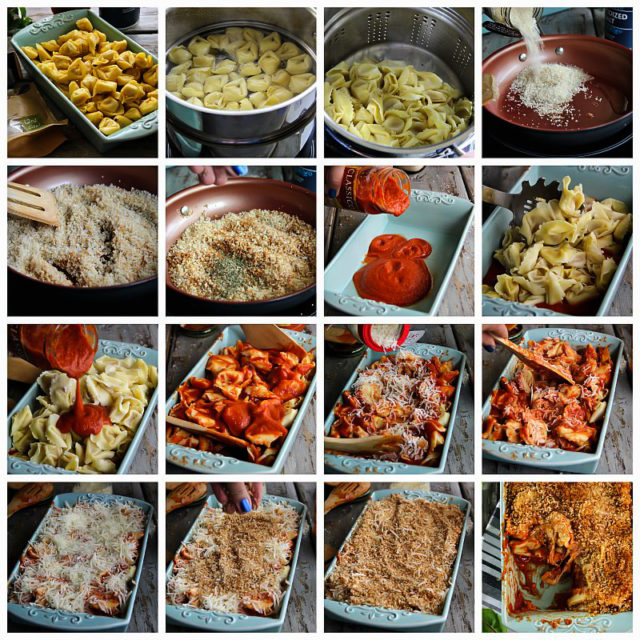 step by step how to make baked pasta
