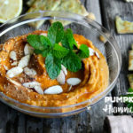 Simple and delicious recipe for Pumpkin Pie Hummus