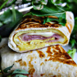 Egg, Cheese and Ham Wrap