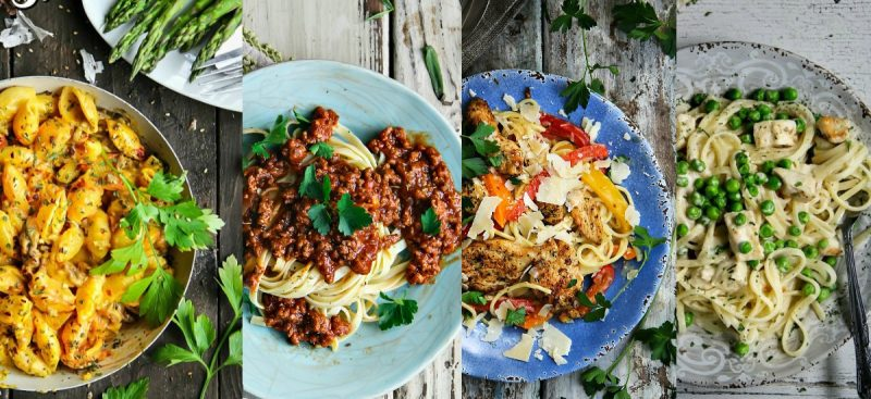 TOP 10 Weeknight Pasta Recipes