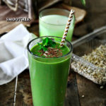 Kale, Aloe Vera, Banana, and Strawberry Smoothie Recipe