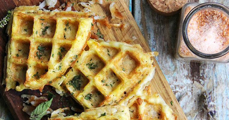 Flourless Potato Waffles
