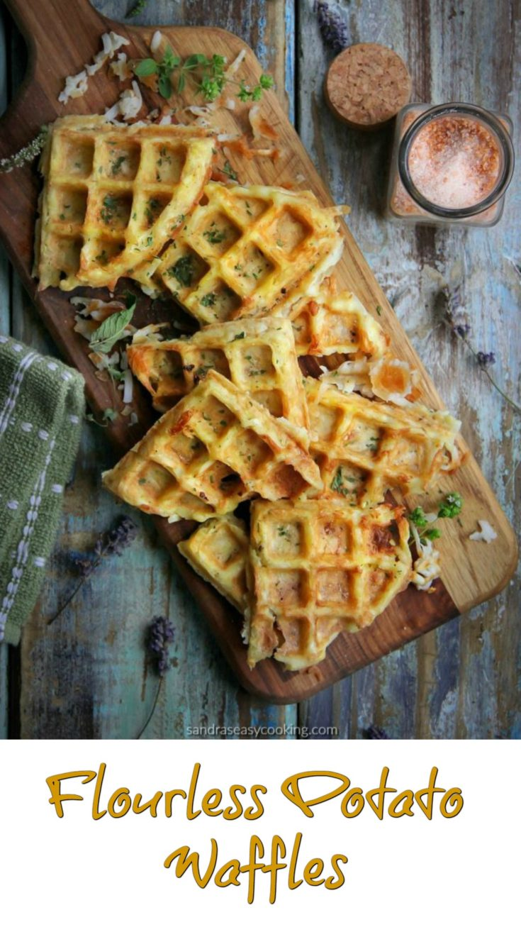Flourless Potato Waffles Recipe
