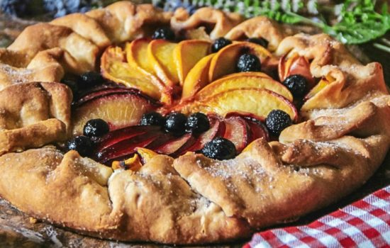 Plum and Peach Galette Recipe