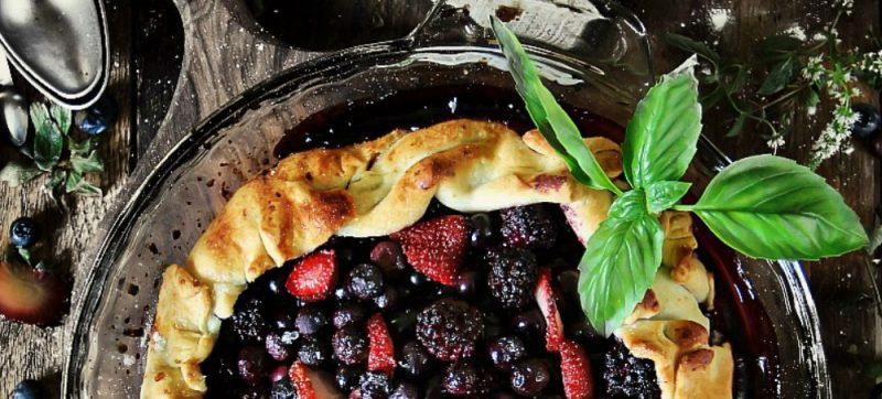 Triple Berry Galette Recipe