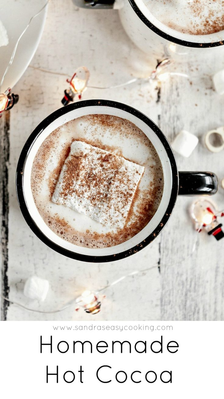 Easy and delicious homemade hot cocoa mix recipe
