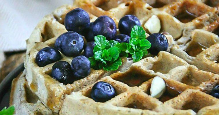 Buckwheat Waffles GF, DF