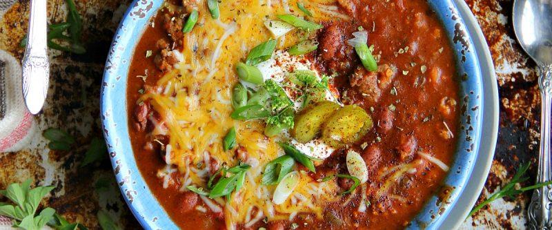 Turkey and Italian Sausage Chili