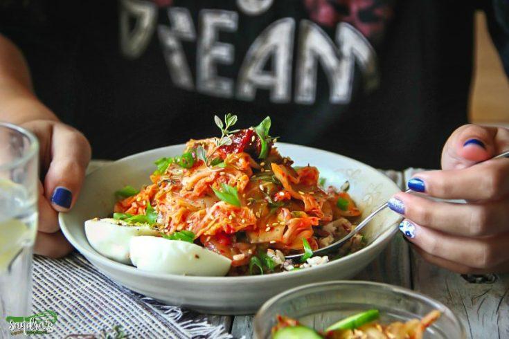 Multi Grain Medley Bowl with Kimchi