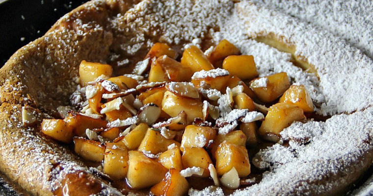 Dutch Baby – with Rye and Spelt Flour