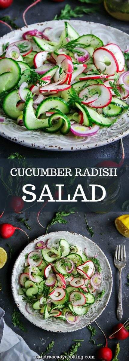 I love salads, especially this Cucumber Radish Salad. I eat them every single day with my main meal or on its own. I don't know if this ever happens to you, but I crave salads. Read more...