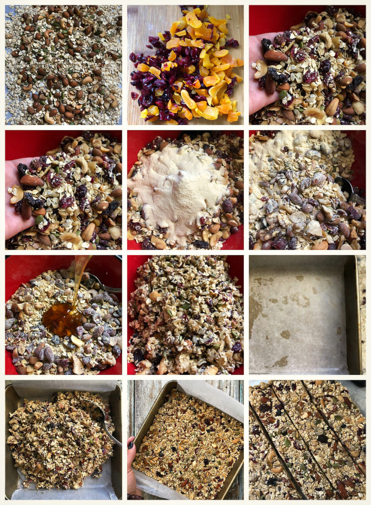 Easy Energy Bars step by step instructions