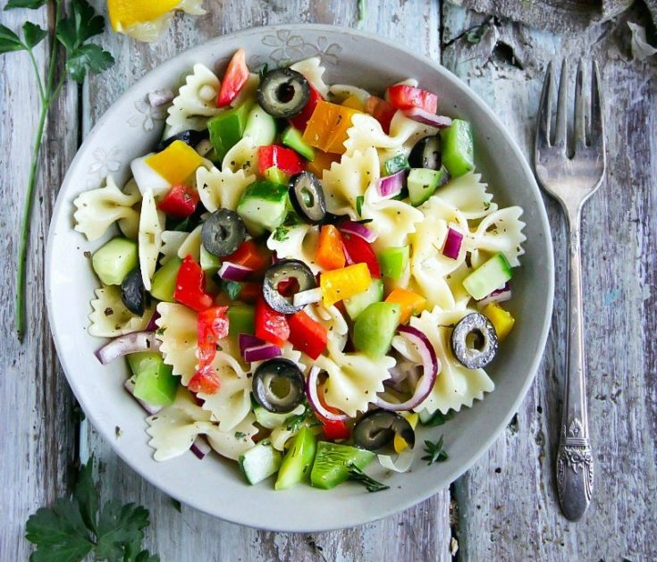 Vegetarian Pasta Salad Recipe Sandra S Easy Cooking