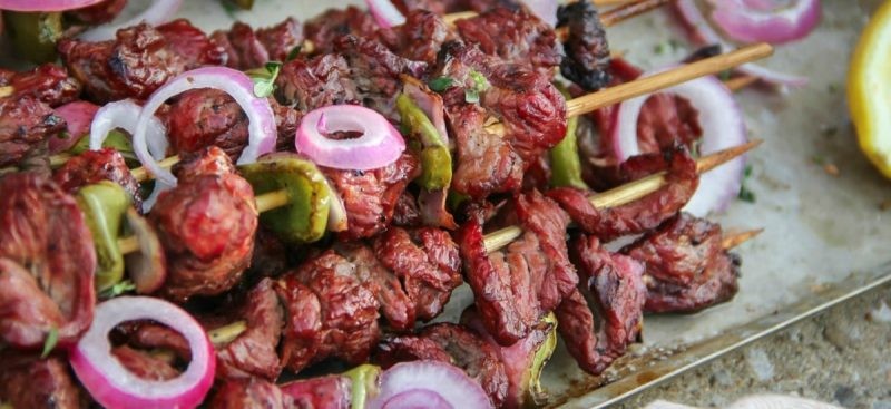 Asian Beef Skewers Recipe