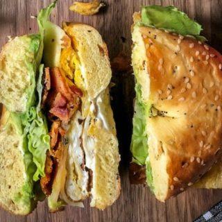 Brunch Bagel Sandwich