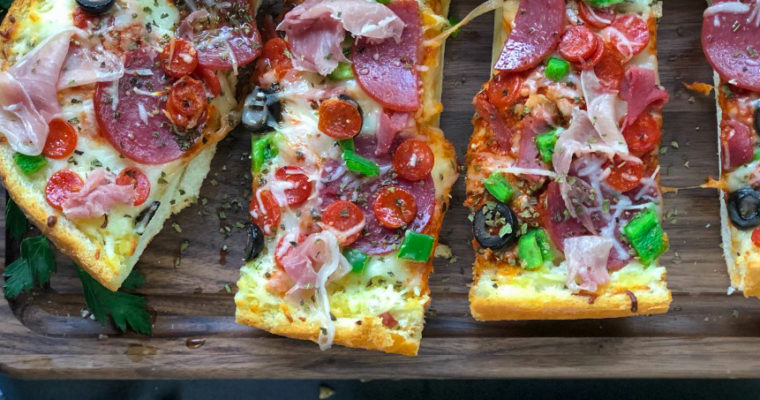 Supreme Bread Pizza