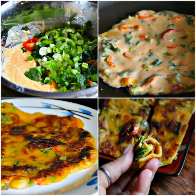 Korean Vegetable Pancakes