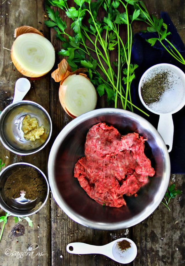 Jordanian Beef Kefta