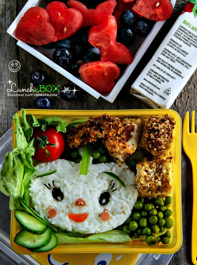 Lunch Box: Baked Panko Chicken