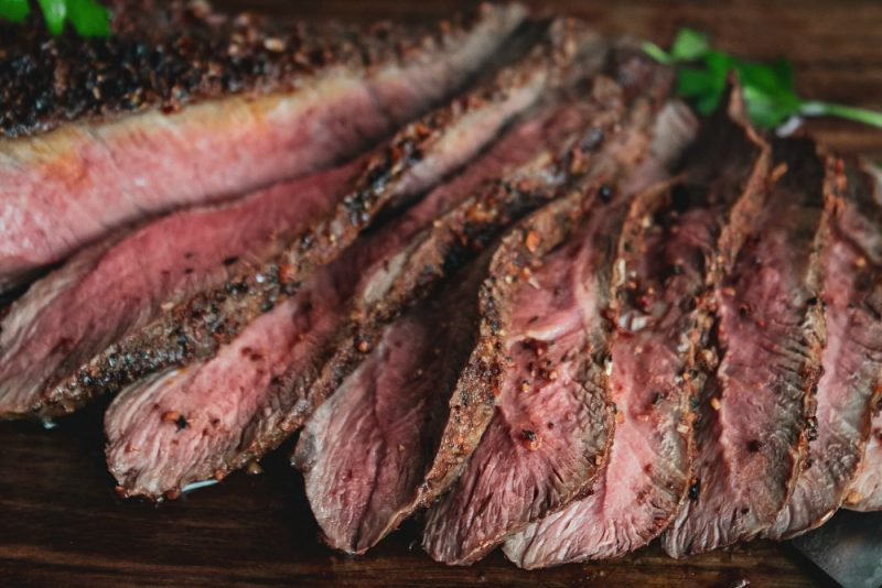 Easy and delicious recipe for a perfect Broiled Flank Steak