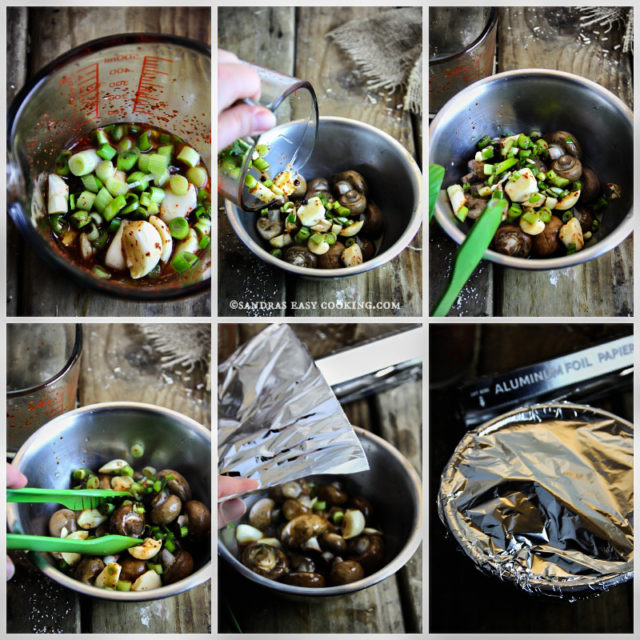 Healthy Recipe for Marinated Mushrooms