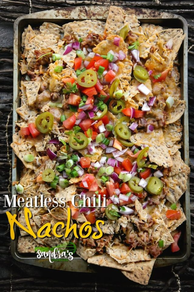 Meatless Chili Nachos Recipe