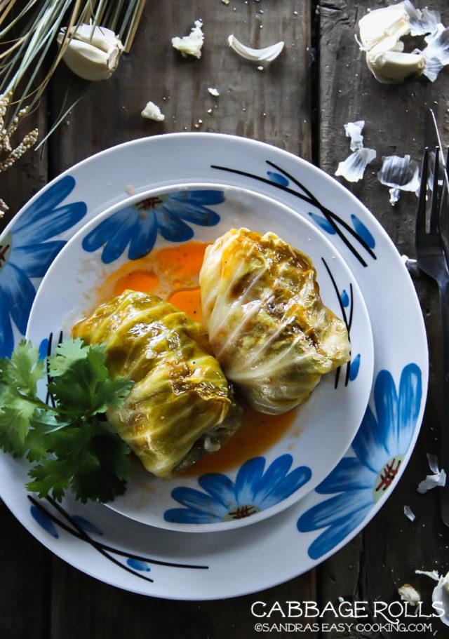 Stuffed Cabbage Rolls Sarma