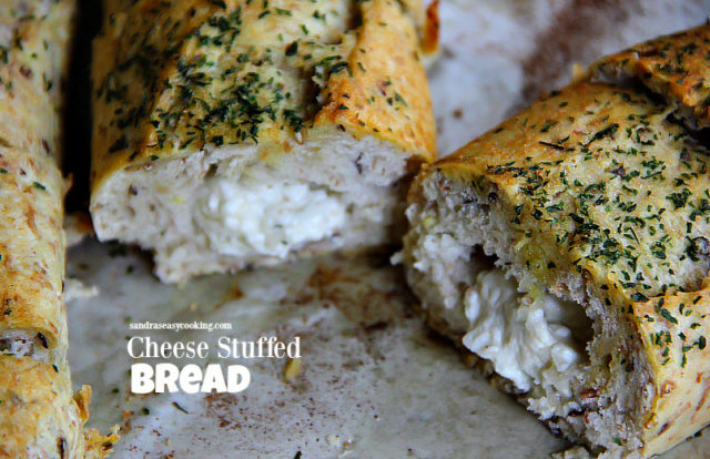 Boursin Cheese Stuffed Bread
